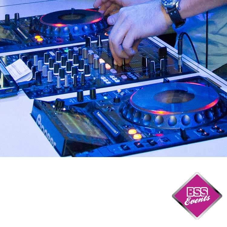 DJ Booth met app.